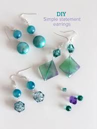home made earrings beautiful earring designs to make at home photos decorating