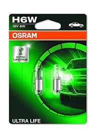 Position Light Osram Ultra Life H6w Halogen Parking And Position Light 6413ult