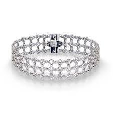 bracelet diamond designs images Linked bezel diamond bracelet jewelry designs jpg