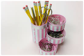 diy crafts how to recycle tin cans to make a pencil holder or desk