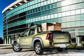 renault duster oroch renault duster oroch duster pick up rear quarter with cargo
