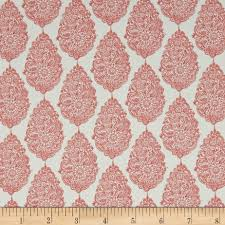 Lightweight Fabric For Curtains Premier Prints Jersey Twill Coral From Fabricdotcom Screen