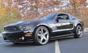 A Black Mustang 2012 Roush Mustang