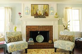 red brick fireplace makeover ideas