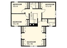 small farmhouse floor plans t shaped farmhouse design 46158se architectural designs