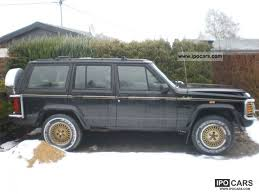 1989 jeep wagoneer limited 1989 jeep cherokee 4 0 limited car photo and specs