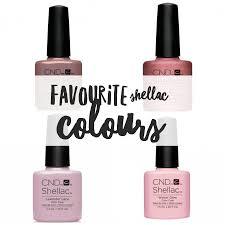 my top 10 shellac polish colours