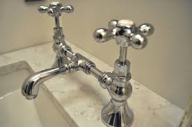 Kitchen Faucet Bridge Unlacquered Brass Kitchen Faucet Above The Waterworks Easton Line