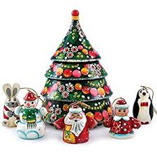 matryoshka tree nesting doll with
