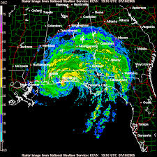 houston doppler map radar images of tropical cyclones that affected florida