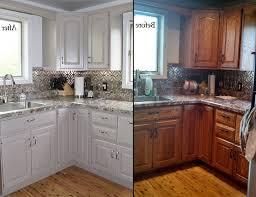 oak kitchen cabinets ideas updating oak kitchen cabinets before and after before and after