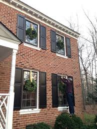 window wreaths outdoor decorating the easy way to hang window wreaths