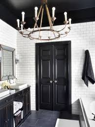 Bathroom Ceilings Ideas by Here U0027s Why You Should Paint Your Ceiling Black The Accent
