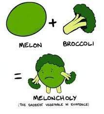 Vegetable Meme - broccoli melon meloncholy the saddest vegetable in existence