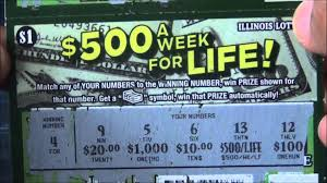 Lottery Instant Wins - lottery tickets illinois 500 a week for life 1000 week for life