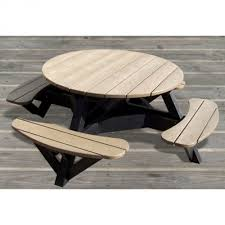 Poly Lumber Outdoor Furniture Poly Lumber Adirondack Picnic Table Dfohome