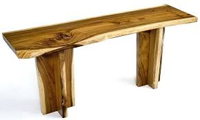 natural wood console table natural wood console table fish with drawers top stein world urban