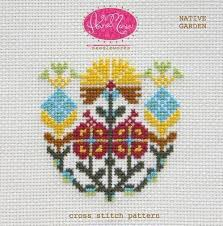 linen cross stitch kits stitched modern