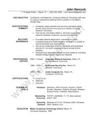 Computer Hardware And Networking Resume Samples Network Technician Sample Resume Gallery Creawizard Com