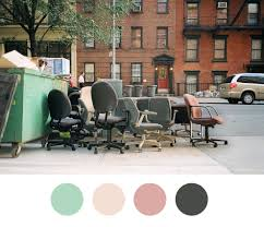 beautiful color palettes inspired by nyc garbage world warotter