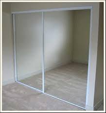 How To Make A Sliding Closet Door What A Genius Idea For Those Boring White Sliding Closet