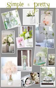 simple flower arrangements white gunpowder