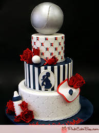 baby shower baseball theme yankee themed baby shower cake custom baby shower cakes