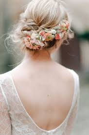 wedding flowers in hair wedding hair fresh wedding flowers in hair on instagram unique