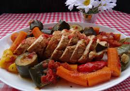 comment cuisiner un roti de dinde rôti de dinde au paprika et aux légumes auxdelicesdemanue