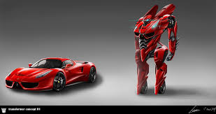 ferrari transformer transformer concept 01 by nobody00000000 on deviantart