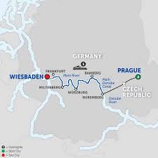 Map Of European Rivers by 2018 Europe River Cruise Deals