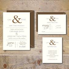 wedding invitation exle ampersand wedding invitations wedding invitations wedding