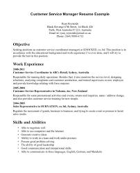 functional resume description resume description for customer service rep template professional
