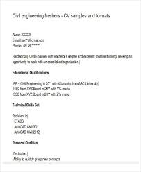 Sample Engineering Resume For Freshers Brilliant Ideas Of Sample Resume For Engineering Freshers On