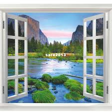 new arrival wall sticker fake window wall poster decorative poster new arrival wall sticker fake window wall poster decorative poster 4 styles to choose dropshiping j390 word wall art word wall decals from sara2013