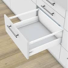 coulisse tiroir cuisine kit tiroir casserolier métal à coulisses blum accessoires de cuisine