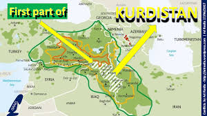 Kurdistan Map Kurdistan Taking Shape With Israeli Support Pcdn Pcdn