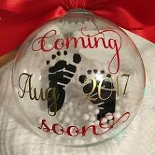 pregnancy announcement ornament diy ornaments for grandparents
