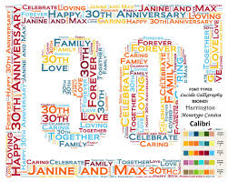 30 anniversary gift personalized 30th anniversary 30th anniversary gift 8 x 10 print