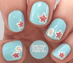 new nail design ideas starfish nail design easy tutorial in the