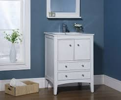 24 Inch Bathroom Vanities And Cabinets Kent 24 Inch Traditional Bathroom Vanity Whitewash Finish