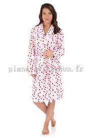 robe de chambre peluche femme soldes pyjama chemise de nuit femme acheter robe de chambre