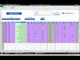 Excel Database Templates Free Budgeting Excel Templates And Cell Level Changes