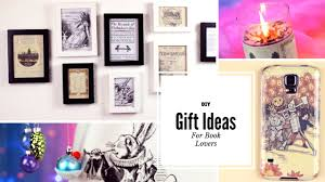Gifts For Interior Designers Diy Gift Ideas For Book Lovers Youtube