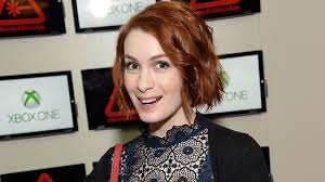 what is felicia day s hair color felicia day welcomes daughter calliope maeve see the sweet pic