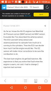 Bad Map Sensor Symptoms Someone Give Me A Helping Hand Maf Sensor Identification Car