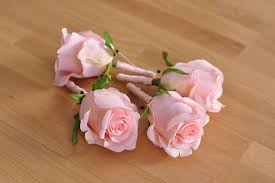 Coral Boutonniere Wedding Flowers Coral Salmon Pink Rose Boutonniere Wrapped In