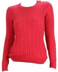 charter sweater deals on charter cable knit crew