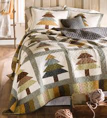 evergreen forest quilt set evergreen trees adorn this rustic