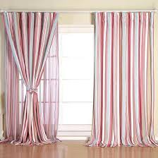 Light Pink Curtains Pink Baby Curtains Print Blackout Baby Room Curtains